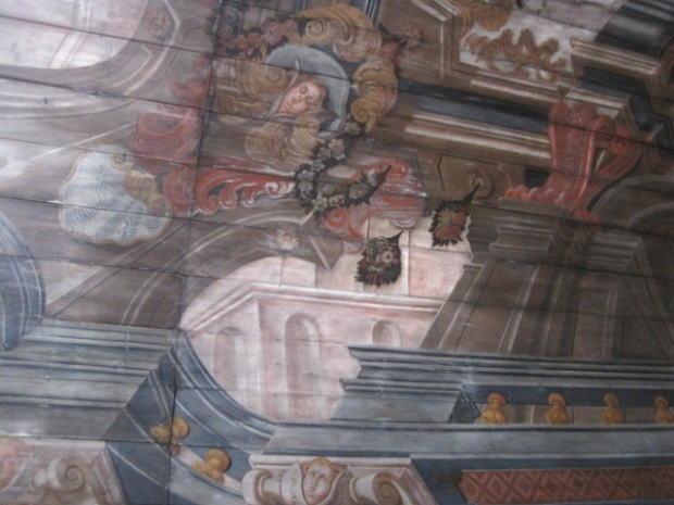 Ceiling paintings from 1760