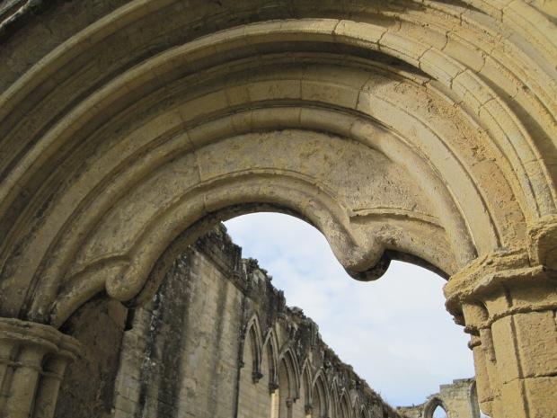 An exquisitely shaped doorway