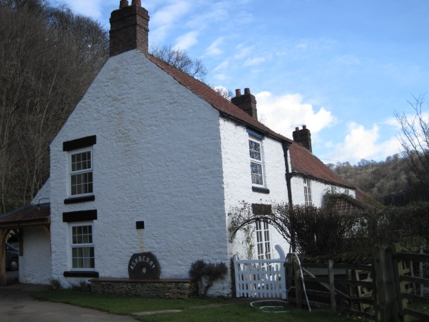 The path ends at 'Ashberry'- a large farmhouse
