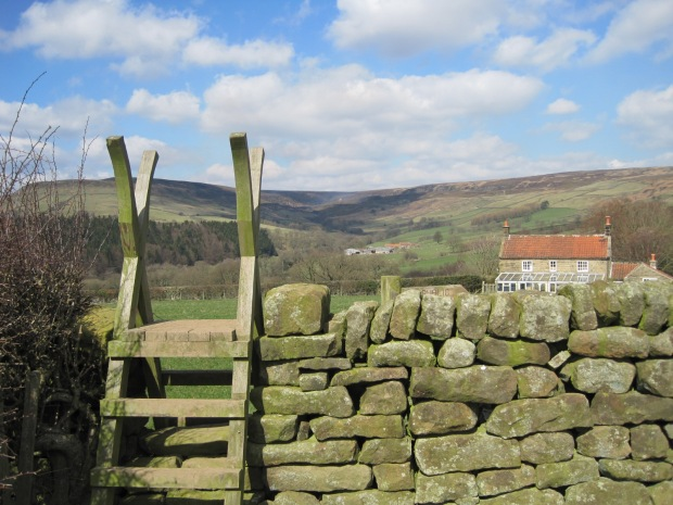 Complete with stile!