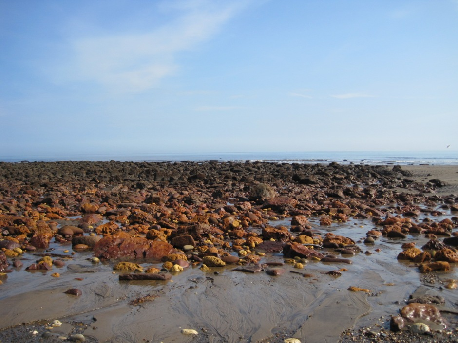 The rich colours of the stones beckon