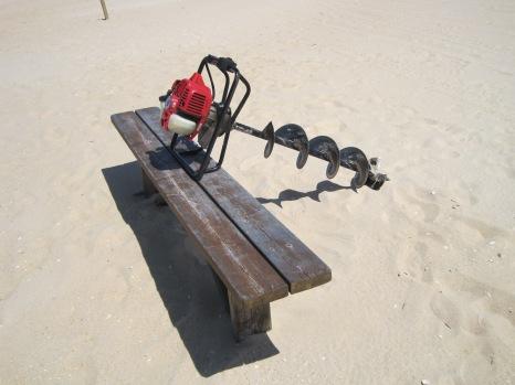 Sunbathing? No boat in sight!