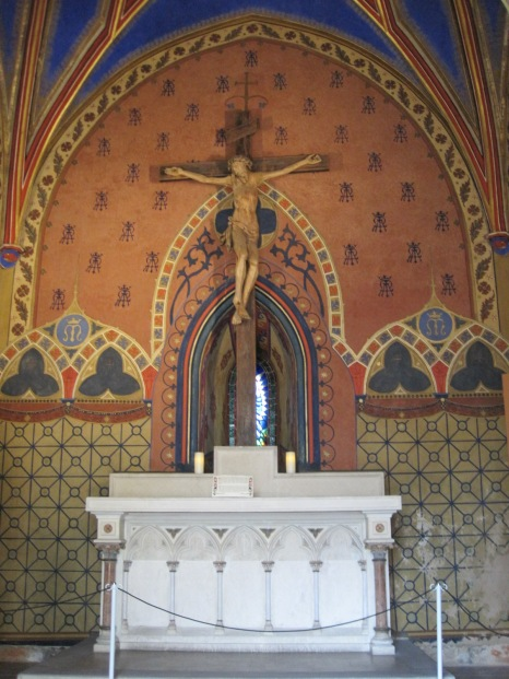 Or into this beautiful tiny chapel