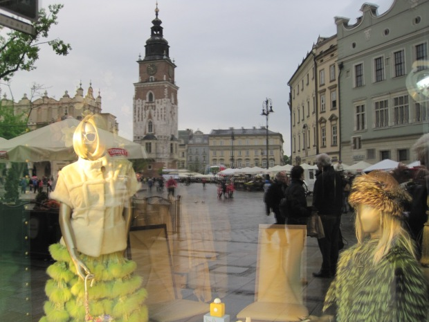 But this one, complete with view of the Rynek, may have been my favourite