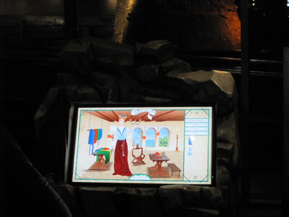 Dress a medieval lady- interactive play for the young at heart