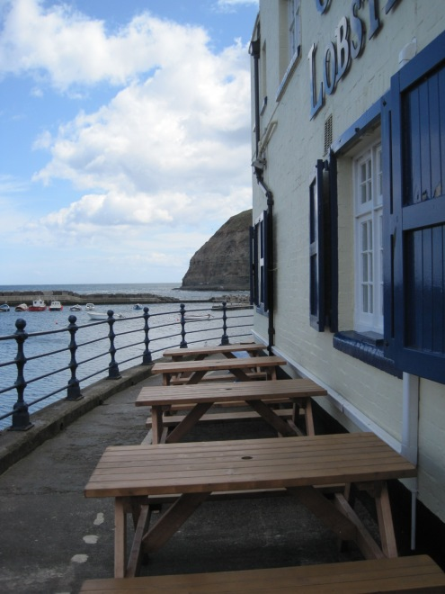 Here are a few of the pub benches