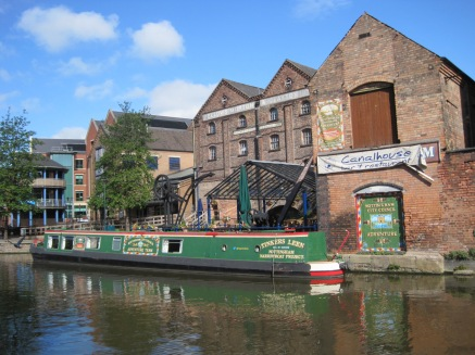 Canalside restaurants