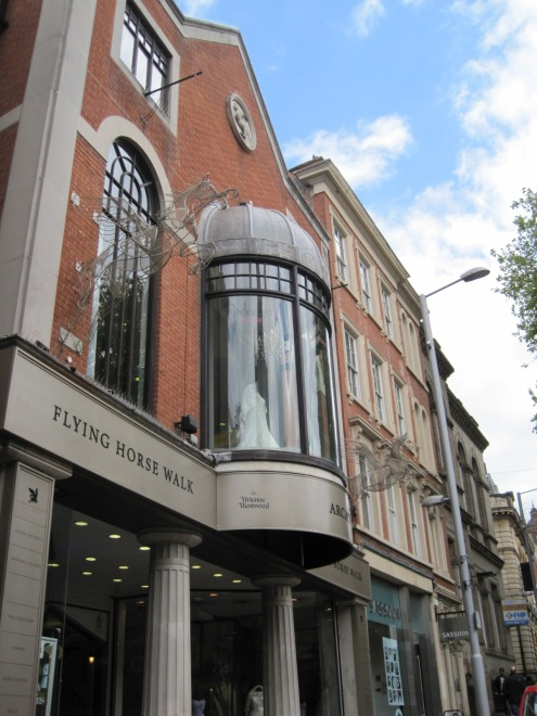 The Vivienne Westwood store