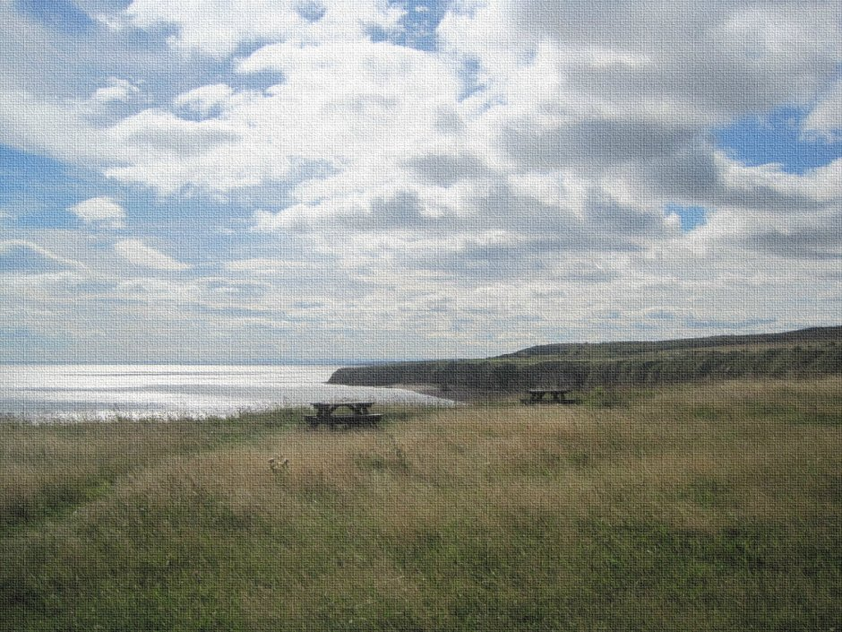A gentle day on the north east coast of England