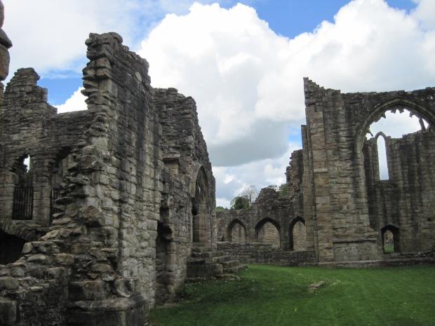 A view through the ruins