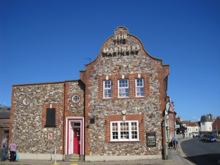 And a traditional stone pub