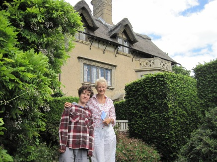 With wonderfully ornate chimneys (and Mariusz)