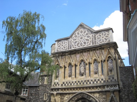 St. Ethelbert's Gate, one of the entrances to the Cathedral complex