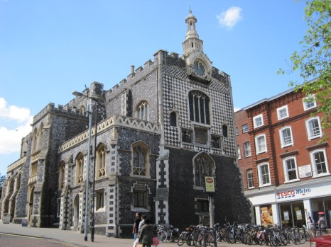 The Guildhall in Market Place