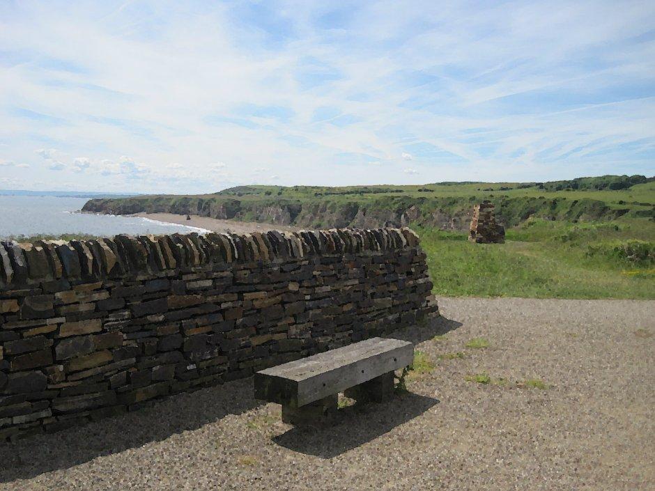 A good-looking bench but facing the wrong way
