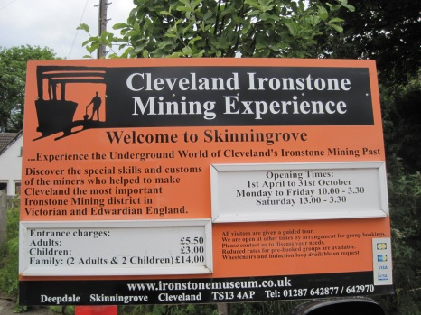 Present day entrance to the mining museum