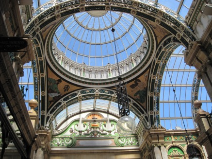 I never saw a lovelier glass dome