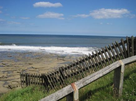 Following the coastal path
