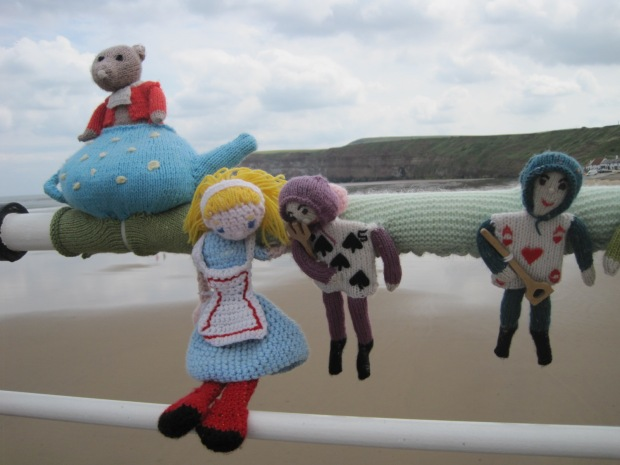 Hanging about on Saltburn pier
