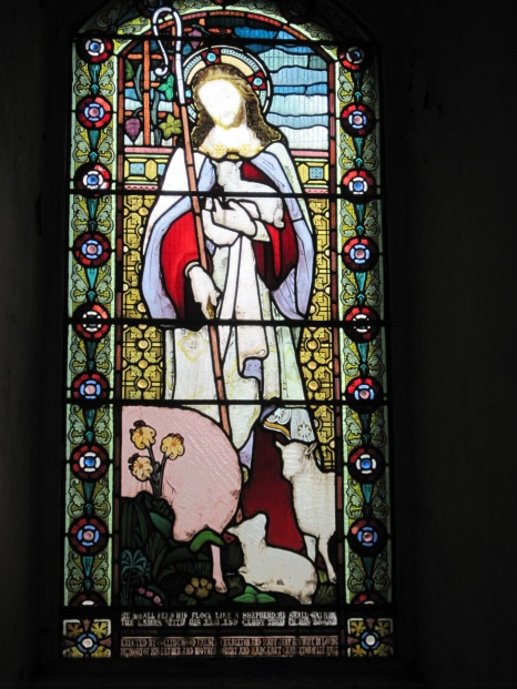 And some beautiful stained glass