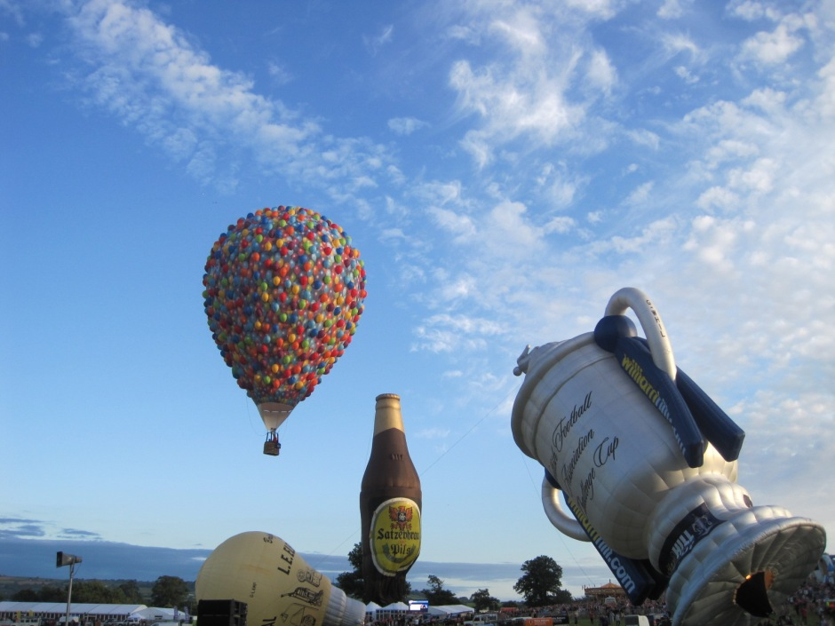 'Balloons' was one of the last to take to the sky