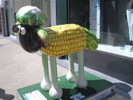 'Shaun on the Cob'