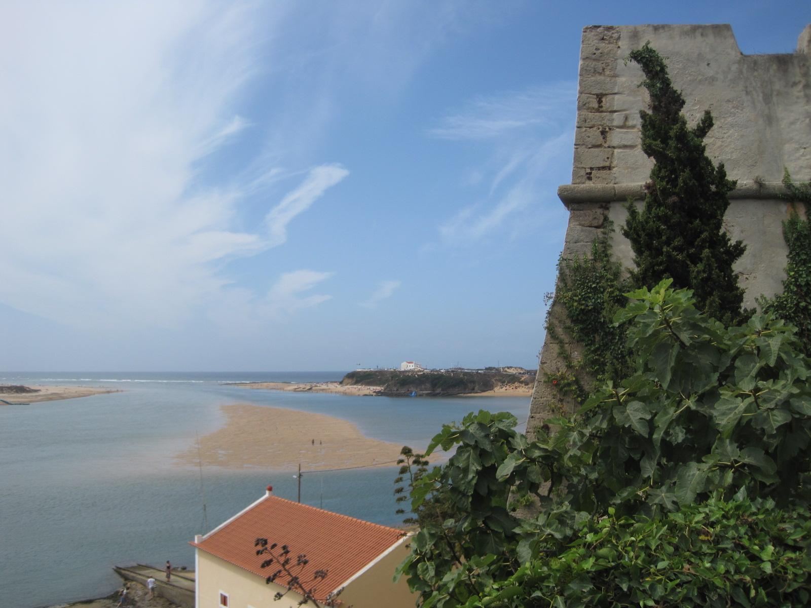 Looking down from the castelo at Vila Nova de Milfontes