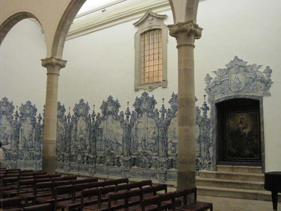 With its wonderful azulejo panels