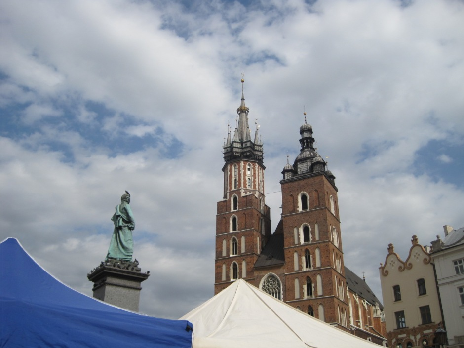 The spires of the Mariacki Church will always say Krakow to me