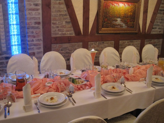 Before the guests