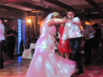 Przemek and Magda, dancing up a storm