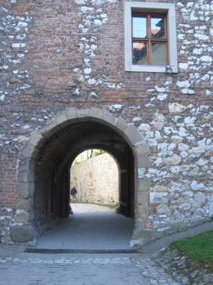 The outer walls