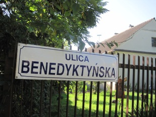 Along this street