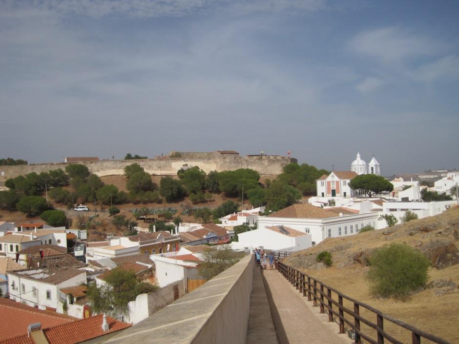 The castle at Castro Marim