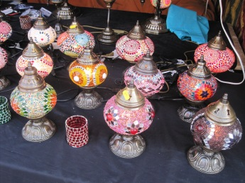 And such pretty lamps!