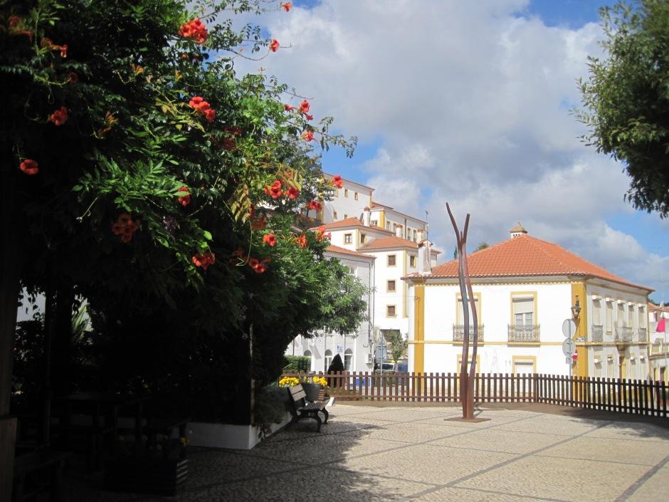 A modern square