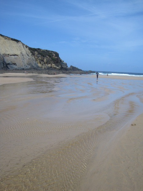 A dizzying swirl of sand