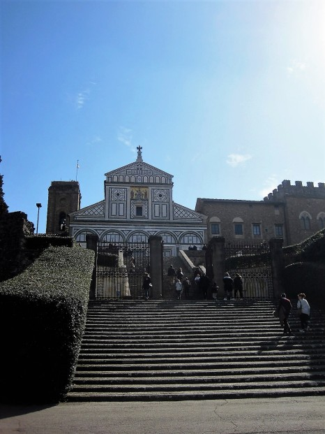 The steps to San Miniato al Monte