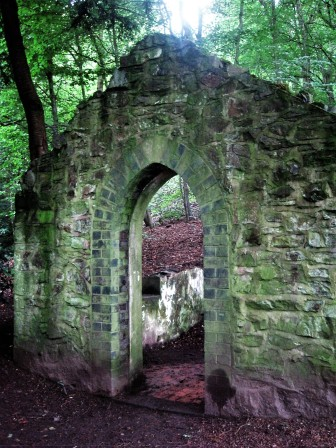And a ruined folly