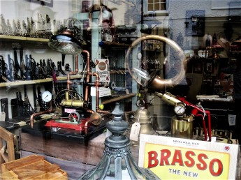 An intriguing shop window