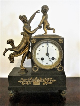 One of many lovely clocks