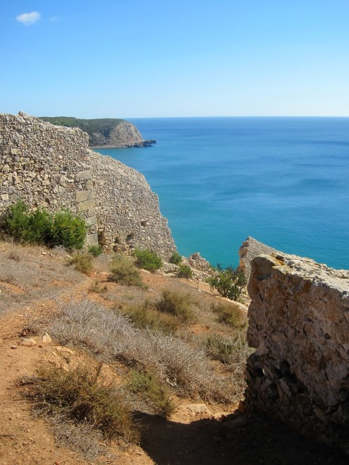 Looking back towards Burgau