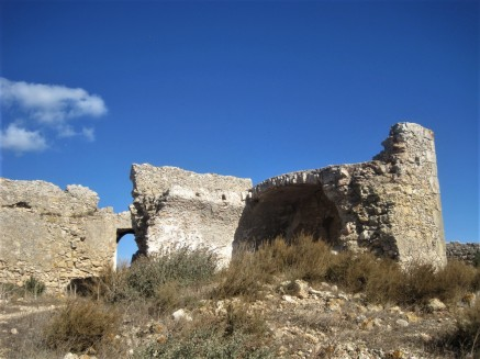 Remnants of the barracks