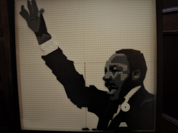 Martin Luther King in Lego