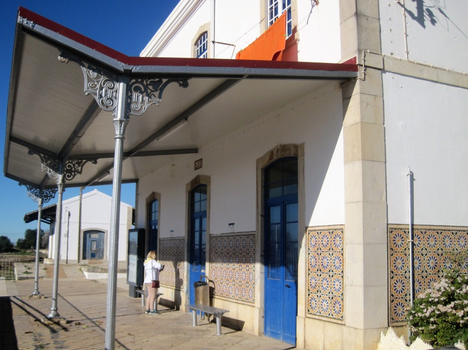 The station at Luz de Tavira