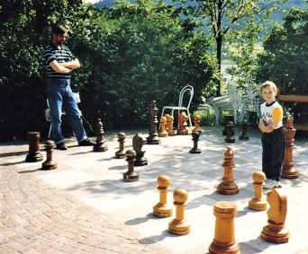 Learning chess, in Austria