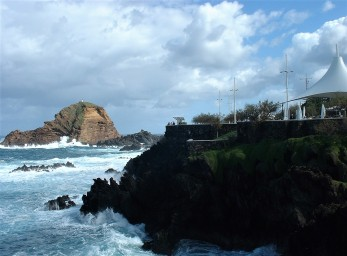 Wild waters at Porto Moniz, Madeira