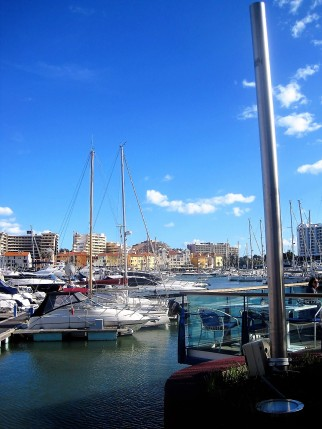 The marina at Vilamoura
