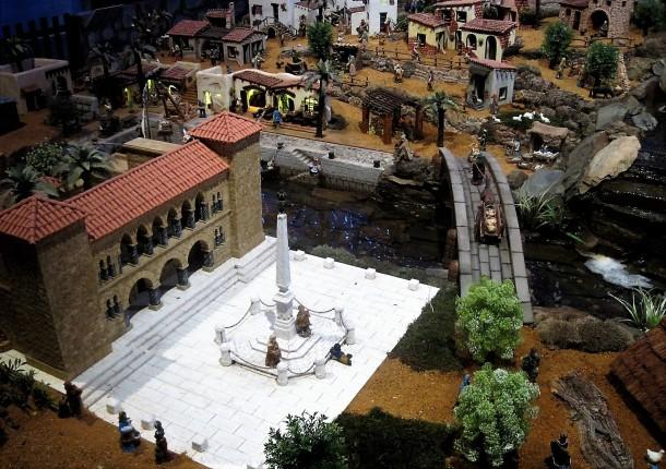 Vila Real main square and church