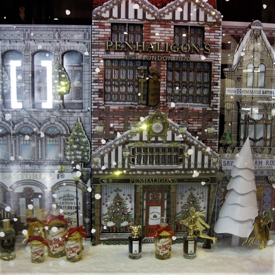 A Christmas window from times past